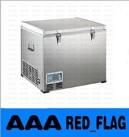 Wholesale 60L outdoor compressor refrigerator deep freezer portable fridge dc v refrigerator freezer single door fridge rapide cooling LLFA726