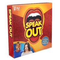 baby speaking - Speak out Game Baby Toys Interesting Party Game for Halloween Christmas kids birthday gift