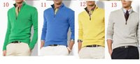 Wholesale New Century Men s turtleneck sweater with a zipper European and American style hot winter Preferred Listing