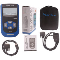 Wholesale Car Styling obd2 Scanner tool Vgate VS450 OBDII Code Reader OBD2 Car Diagnostic Tool VS Reset Airbag ABS CAN
