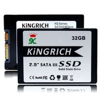 Wholesale Kingrich quot SATA II HD SSD GB SATA2 Solid State Disk hard drive MLC Flash For laptop Notebook computer