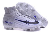Wholesale 2016 New arrival men ACC MaGIsta Soccer shoes High Ankle football Boots HERITAGE SuPERfly IV V CR FG MerCURial CR7 cleats shoes