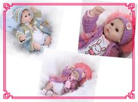 bebe sweaters - 18inch Different Style NPK Silicone Reborn Baby Dolls With Handmade Sweater About cm Cute Baby Reborn Munecas For Kids Bebe Reborn Toys