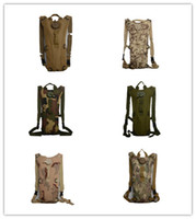 canvas water bag - With water bag water bag water bag outdoor climbing package L Hydration Packs Tactical Bike Bicycle Camel Water Bladder bag Assault Bac