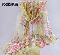 Wholesale 2016 new scarf spring and autumn women s scarf Korean chiffon georgette scarf summer sunscreen FQ053