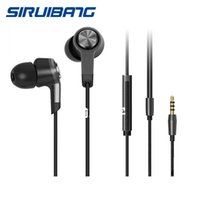 Wholesale The New Millet Earplugs Headphones mm Stereo Miband Phone Earplugs With Remote Microphone Volume Generally Headsets