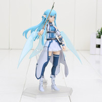 alo free - Anime Sword Art Online II Figma pvc Action Figure Series No Asuna ALO good collection model toys