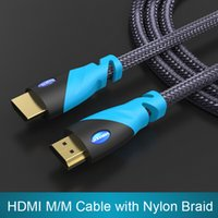 Wholesale High Quality HDMI Cable m FT Male to Male Gold Plated HDMI V P D For Ps3 Xbox appletv HDTV Computer Cables