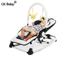 Wholesale Fashion Electric Baby Rocking Chair Baby Music Chair Baby Cradle Baby Rocker With Music Multifunction Portable