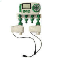 automatic water valve timer - Automatic Zone Smart Irrigation System Garden Water Timer with Valves