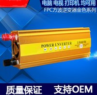 Wholesale 1500W Car Power Inverter Adapter Voltage range V V OUTPUT V car power converter inverter USB Port