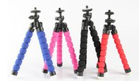 Wholesale Portable Phone Camera Holder Flexible Octopus Tripod Bracket Stand Mount Monopod Styling Accessories For Mobile Phone Camera from Lomefo