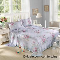 Wholesale New Style Cool Summer Sleeping Mat with Pillow Case Full Queen Size Bed Sheet Sets