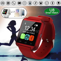 Cheap Bluetooth Smart Watch U8 Watch Wristwatch Touch screen Digital Sport Watches For Iphone Samsung HTC NOTE Android Smartphone Free shipping