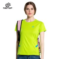 Wholesale Top quality women shirts running sports short sleeve T shirt women summer quick drying shirts Women s clothing