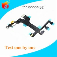 Wholesale New For iPhone c Power Switch ON OFF Button Flex Cable Ribbon Replacement Repair Parts