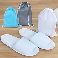 bedroom shoes - Fashion new Traveling portable folding slippers Unisex Novelty Slipper Women Cute Bedroom Flock Sewing Warm Home Men Shoes Hotels essential