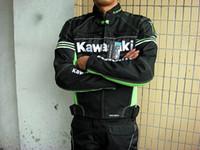 Wholesale 2016 new style kawasaki breathable Running jackets motorcycle jackets race jackets riding off road jackets motorcycle clothing k