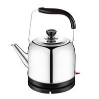 Wholesale eletric kettle L stainless steel inside big volume home use commercial