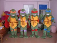 Wholesale Teenage Mutant Ninja Turtle Mascot Costume Adult Character Costume drop ship acceptable will ship out asap