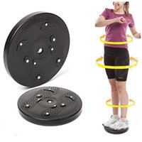balance disk - Fitness non slip plastic balance board drive to the waist twister disk abdominal exerciser health functional equipment DR DT019