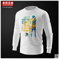 basketball girls jerseys - long sleeve t shirt girls Long sleeved T shirt Curry male basketball jerseys with cotton round collar clothes