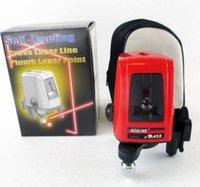 ak red dot - Line dots AK455 degree Self leveling Cross Laser Level Red HOT SALE Level Laser Level Tools ak