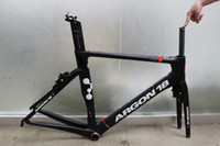 Wholesale Argon Carbon road frame with Professional Brakes T1000 BB86 Chinese Carbon bike frame Bicycle carbon frame cadre carbone