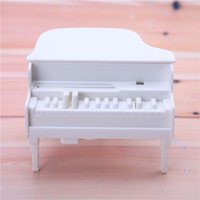 Wholesale New Piano Toothpick Holder UV Disinfection Toothpick Box White Plastic Automatic Toothpick Dispenser Storage Case