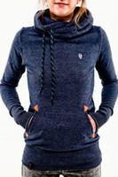 Wholesale tracksuit women sweatshirts crop tops love pink blue fashion design plus size woman clothes set autumn zipper S XL Hot Sale