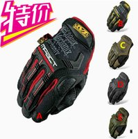 Wholesale high New Arrival MECHANIX Wear Tactical Gloves for Combat Work Army Military Racing Leather Motocross Gloves Colors S XL