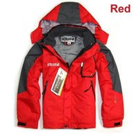 Wholesale New Children Kids Boys Winter Outdoor Jacket Sports Fleece Clothes Waterproof Windproof Breathable Boy Winter Coat SoftShell Warm Ski Coats