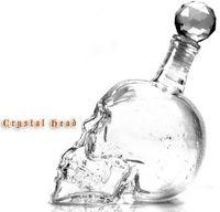 glass decanter - Creative Cup ml Crystal Skulls Vodka Bottles Shot Glass Beer Bottle Drink Ware Home Bar Party