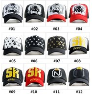 bask hats - Hip hop tide han edition duck tongue mesh caps baseball cap hat woman man is prevented bask in outdoor leisure cap spring summer