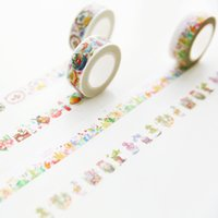 Wholesale Three year two class South Korea stationery and paper hand tear tape DIY hand account decorative color tape tape