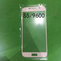Wholesale quality A Front Glass Screen Screen Cover replacement CELL phone housing for samsung s2 S3 S4 S5 mini S6 NOTE MOQ
