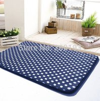 Wholesale piece Wave point A flannel Carpet Bathrooms Non slip mats