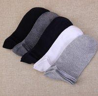 Wholesale 10 pairs Men s short boat socks brandpolyester breathable casual sports sock for men