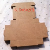 bamboo food tray - 6 cm Kraft Storage boxes Small jewelry tray Aircraft box Food Candy box Biscuit Cake Gift Packaging