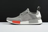 aluminum online - Aluminum grey R1 Runner Primeknit Online Top Men Women Running Shoes R1 Boost Basketball Shoes For Sale With Box
