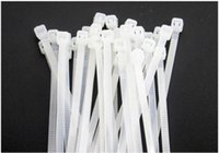 Wholesale GB environmental protection nylon tie band with high temperature resistant band mm band white