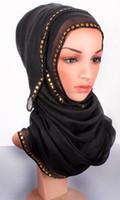 2016 de la bufanda de la placa del oro de la bufanda de la bufanda de la bufanda de Paillette de la bufanda de los bufandas largos viscosa de la bufanda de la princesa de Printe de la manera FS6817