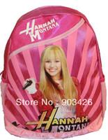 Wholesale DHL High Quality Hannah Montana Children s School Bag Rucksack Cartoon School Backpack G2355 on Sale
