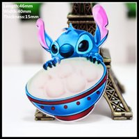 anniversary cross stitch - 10 fashion cute Lilo Stitch cartoon badge student brooch pet brooch men s and women s pin buckle
