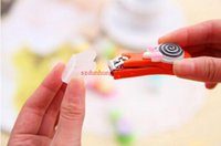 Wholesale Good use pretty nail clippers Lollipop candy color nail Plastic stainless steel Candy color nail clippers