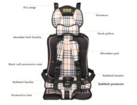 Wholesale Auto Car Infant Baby Seat Cushion For Years Old Child Cheap cushion for cars