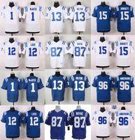 andrew luck jersey - Elite Colts Mens Jerseys Pat McAfee Andrew Luck T Y Hilton Reggie Wayne Henry Anderson Phillip Dorsett