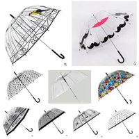 Wholesale Rain Umbrella D Birdcage Pattern Apollo umbrella Princess Women Rain Umbrellas Long Handle umbrellas Cage Styles