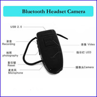 Wholesale 4GB bluetooth camera Bluetooth Earphone headset Style mini spy Camera dv dvr Bluetooth Earphone hidden Camcorder