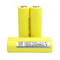 Wholesale Authentic HE4 V mAh A Rechargeable Lithium ion Battery For Mechanical Box Mod Fedex Free